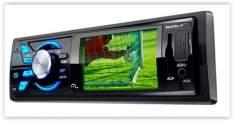 [Submarino]Som Automotivo Multilaser P3227 Rock Tela 3 Polegadas com TV Digital FM Entradas USB AUX P2 e SD Card por R$ 130