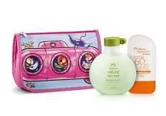 [Natura]  Kit Natura Diversão e Proteção Meninas/Meninos - Loção Protetora FPS 60 + Shampoo 2 em 1 + Nécessaire R$ 60,00