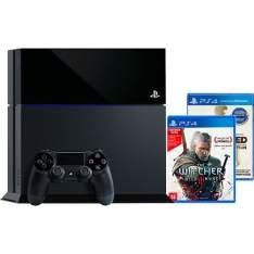 [AMERICANAS] Console PS4 500GB + 2 Jogos + Controle Dualshock 4 (Fabricado No Brasil Com 1 Ano De Garantia) - R$1800