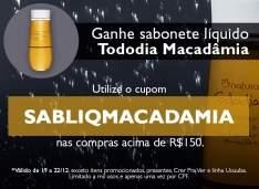 [Natura] Utilize o CUPOM e GANHE Hidratante Ekos Castanha ou Sabonete Líquido Macadâmia