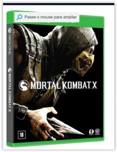 [Submarino] Game Mortal Kombat X - Xbox One por R$105