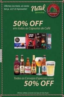 [Pão de Açucar - São Paulo] 50% de desconto para Cervejas Especiais e Capsulas de Café