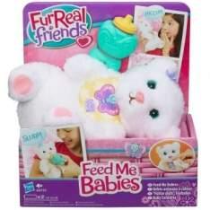 [Ricardo Eletro] Pelúcia Interativa - FurReal Feed Me Babies - Hiccup Bear - Hasbro por R$ 57