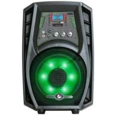 [ricardoeletro]Caixa Amplificada Frahm CL150 Bluetooth - 60W, Entrada USB e SD, Rádio FM e 1 Canal Independente