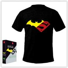 [Submarino] Livro - Box - Wayne de Gotham, Os Últimos Dias de Krypton [2 Livros com Camiseta Exclusiva]  por R$ 18