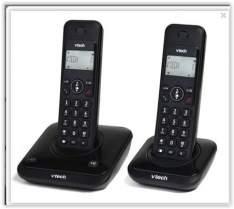 [Voltou -Submarino] Telefone sem Fio Dect 6.0 com Identificador de Chamadas LYRIX 500 - MRD2 - Vtech por 87
