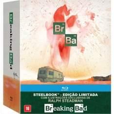 [Ponto Frio] Blu-Ray - Breaking Bad - Edição de Colecionador em Steelbook - 16 Discos - R$321
