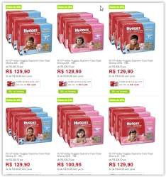[Americanas]Kit 3 Fraldas Huggies Supreme Care Hiper Menino/Menina a partir de R$ 86