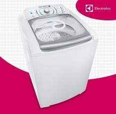 [SUBMARINO] Lavadora de Roupas Electrolux 15kg Blue Touch Ultra Clean LBU15 Branco - R$ 1.053