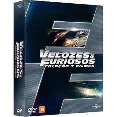 [AMERICANAS] DVD - Velozes e Furiosos - Coleção 7 Filmes - R$ 50,00