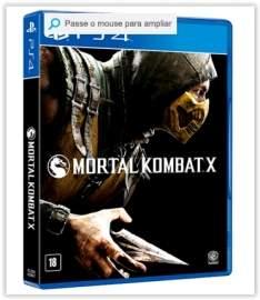 [Submarino] Jogo Mortal Kombat X PS4 por R$102