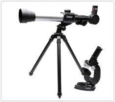 [Sou Barato] Kit Microscópio e Telescópio com Lente 50mm - Vivitar por R$ 100