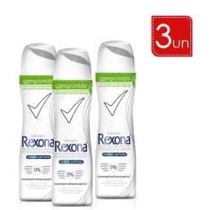 [Lojas Rede] Leve 3 E Pague 2 - Desodorante Aerosol Rexona Comprimido - R$28