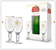 [Empório da Cerveja] Gift para Presente Stella Artois por R$ 38