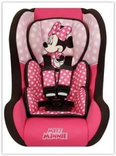 [Extra] Cadeira para Automóvel Disney Trio SP Comfort Minnie Mouse 199604 – 0 a 25 Kg - Rosa/Preta por R$ 199