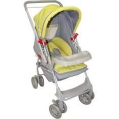 [BEBÊ STORE] Carrinho de Bebê Milano Reversível Cinza - R$276