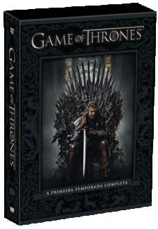 [Saraiva] DVD Game Of Thrones - 1ª Temporada - 5 Discos - R$30