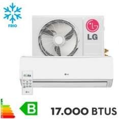 [Ricardo Eletro] Ar Condicionado Split LG 17.000 BTUs Hi Wall Smile Frio por R$1.748