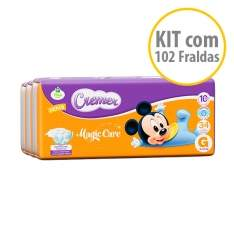 [NetFarma]  Kit Fraldas Cremer Disney Baby G por R$ 60