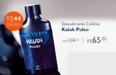 [Natura] Desodorante Colônia Kaiak Pulso Masculino com Cartucho - 100ml R$ 66,00