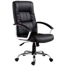 [Extra] Cadeira Office Finlandek Presidente Plus em Couro Sintético, Função Relax e Regulagem de Altura a Gás por R$239,00