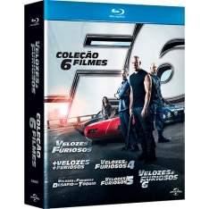 [AMERICANAS] Blu-Ray Coleção Velozes e Furiosos (6 Discos)