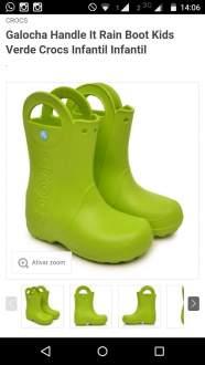 [Tricae] 3 botas Crocs - R$99,00