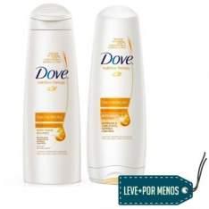 [Ricardo Eletro] Kit Dove Óleo Nutrição: Shampoo 400ml + Condicionador 400ml por R$ 20