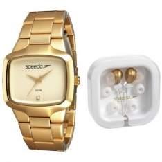 [KANGOOLU] Kit Relógio Feminino Speedo Rose + Fone de Ouvido Speedo - 64005LPEGDS1K1 - R$ 74,43