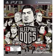 (Americanas)  Sleeping Dogs - PS3 R$ 30