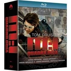 [Submarino] Coleção Blu-ray Missão Impossivel - Quadrilogia (4 Discos) R$ 49,95