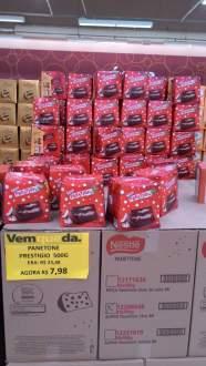 [Walmart Loja Física Osasco] Diversos panettones e Chocotones a partir de R$ 5