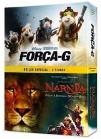 [SARAIVA]  DVDs com Força G + As Crônicas de Nárnia - O Leão, a Feiticeira e o Guarda-roupa - DVD4 - R$10
