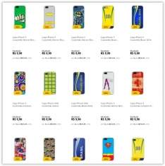 [Saraiva] Diversas Capinhas para Iphone 4/4s/5/5s por R$ 9