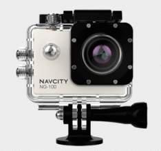 [SUBMARINO] - Câmera Esportiva Navcity Prata FULL HD - R$ 180