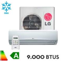 [Ricardo Eletro] Ar Condicionado Split LG 9.000 BTUs Hi Wall Smile Frio - TS-C092TNW6 por R$ 1049