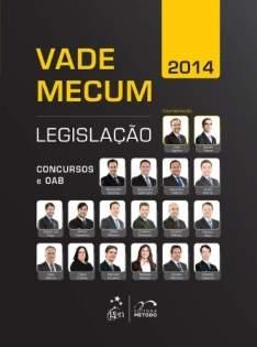 [Amazon] Vade Mecum 2014 Legislação Concursos E OAB - R$15