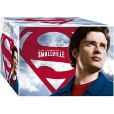 [Shoptime] DVD - Coleção Completa Smallville - As 10 Temporadas (60 Discos) - R$220