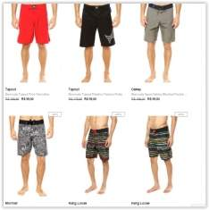 [Dafiti] Bermudas - Oakley, Mormaii, Volcom, Hang Loose por R$ 19