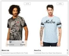 [BUG DAFITI] Camiseta de Graça, paga só o frete!