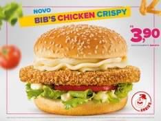 [Habibs] BIB'S CHICKEN CRISPY NO HABIBS POR APENAS R$3,90.