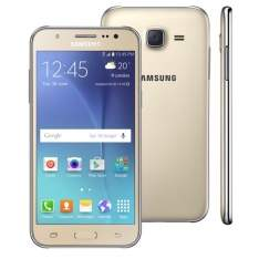 """[Ponto Frio] Smartphone Samsung Galaxy J5 Duos Dourado com Dual chip, Tela 5.0"""", 4G, Câmera 13MP, Android 5.1 e Processador Quad Core de 1.2 Ghz por apena R$789,65 em até 6x sem juros."""