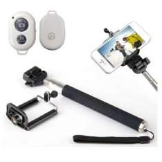[Lojas Americanas] Kit Selfie Celular Bluetooth Bastão De Mão Telescópico por R$ 20