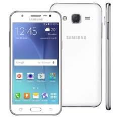 """[Casas Bahia] Smartphone Samsung Galaxy J5 Duos Branco com Dual chip, Tela 5.0"""", 4G, Câmera 13MP, Android 5.1 e Processador Quad Core de 1.2 Ghz R$798,15 Utilize o Cupom:ABRACADABRA"""
