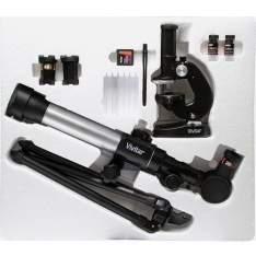 [SouBarato] Kit Microscópio e Telescópio com Lente 50mm - Vivitar - R$99,90