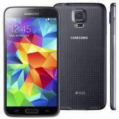 [Extra] Smartphone Samsung Galaxy S5 Duos SM-G900 Preto com Dual Chip - R$ 1.379