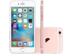 """[Clube da Lu] iPhone 6S Apple 16GB 4G iOS 9 Tela 4.7"""" 3D Touch - Câm. 12MP Proc. Chip A9 Touch ID - Ouro Rosa por R$ 3343"""