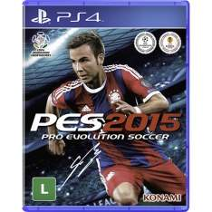 [Submarino] Game Pro Evolution Soccer 2015 (BF) - PS4 (PES 2015) - R$29,90