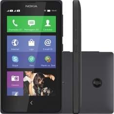 [Americanas] Smartphone Dual Chip Nokia X Desbloqueado Preto Nokia Platform 1.1 Conexão 3G Memória Interna 4GB por R$ 360