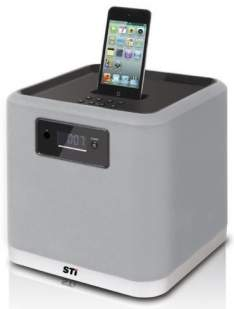 [Saraiva] Dock Station Sti Ds4545i Cinza Para iPod e Iphone, 80w Rms, Subwoofer Integrado, Audio Line-in Aux por R$ 95